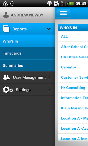 uAttend Screenshot