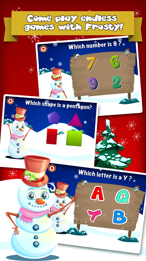 Frosty's Playtime Kids Games - screenshot