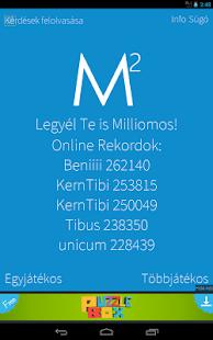 Legyél Te is Milliomos! magyar - screenshot thumbnail