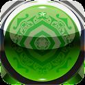 3D green deluxe GO theme logo