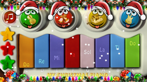 玩教育App|Christmas Piano for Kids 2014免費|APP試玩