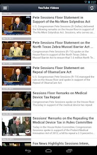Congressman Pete Sessions - screenshot thumbnail
