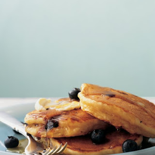 Blueberry Buttermilk Flapjacks