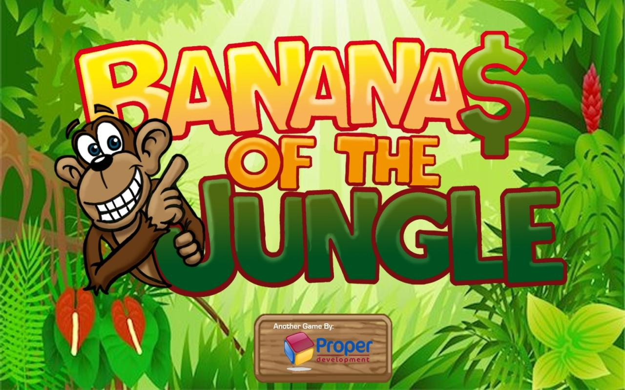 Bananas of the jungle- screenshot