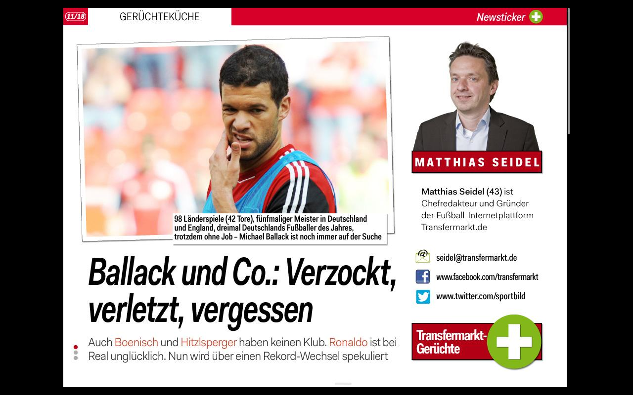 SPORT BILD + - screenshot