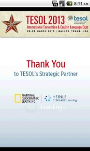 TESOL 2013 - screenshot thumbnail
