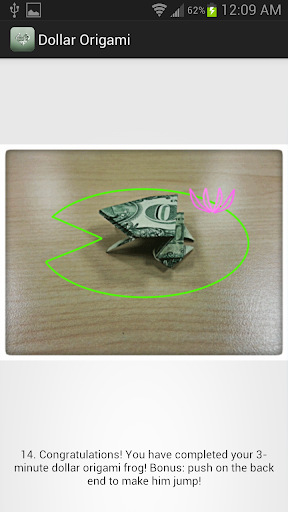 3-Minute Dollar Origami Free