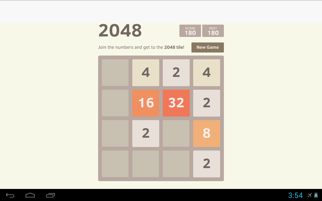 2048 Simple Puzzle- screenshot