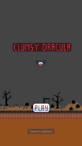 Clumsy Dracula