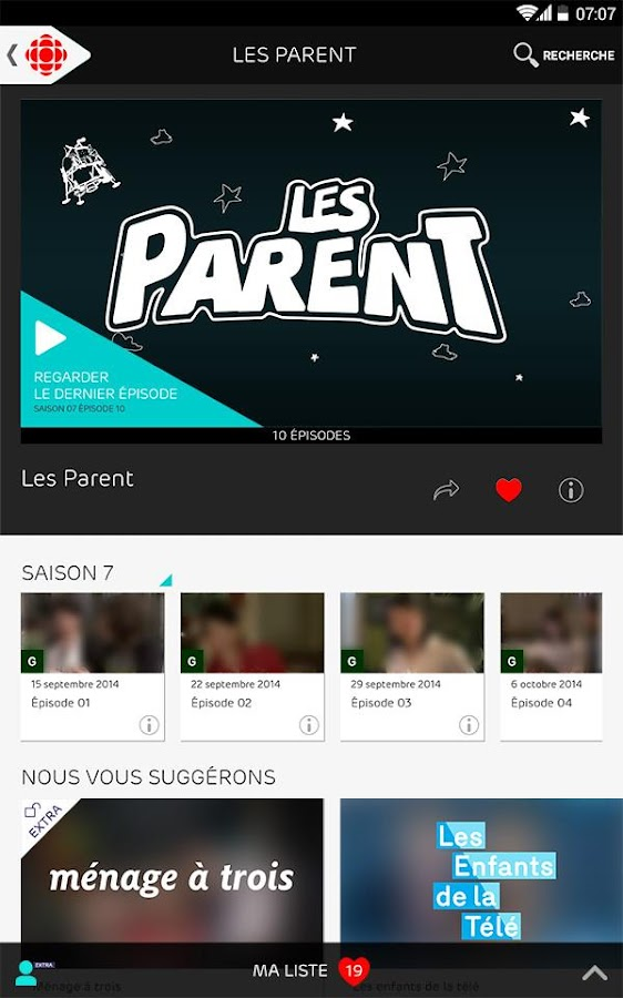 ICI Tou.tv- screenshot