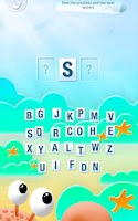 Screenshot of Learning alphabet is fun