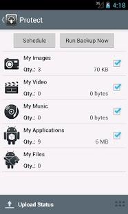 Managed Online Backup- screenshot thumbnail