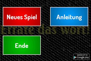 Screenshot of Errate das Wort! (Heads Up)