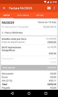 facturas fácil apps en google play