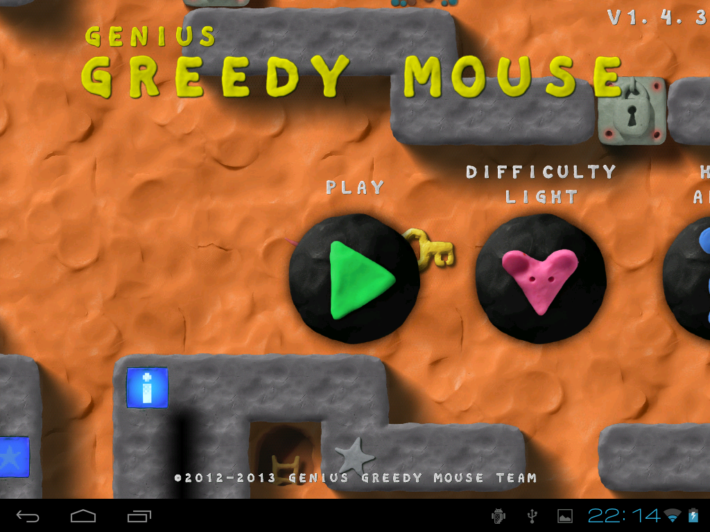 Genius Greedy Mouse - screenshot