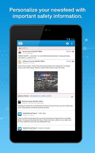 MobilePatrol Public Safety App Screenshot