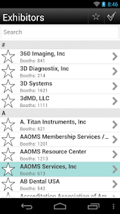 AAOMS 2013 Annual Meeting - screenshot thumbnail