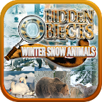 Hidden Object Winter Animals