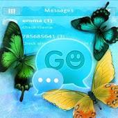 GO SMS Pro Blue Butterfly Buy