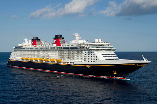 Disney-Dream-at-sea-3 - Disney Dream, launched in 2011, offers a rich variety of family-friendly amenities and nonstop entertainment, including occasional guest appearances by Mickey and friends.