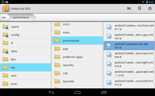 Folders by SAS® Beta - screenshot thumbnail