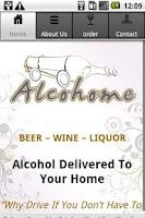 Screenshot of Alcohome