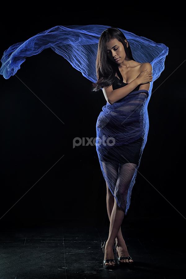 Silent Night by Tito Adinoegroho - People Portraits of Women
