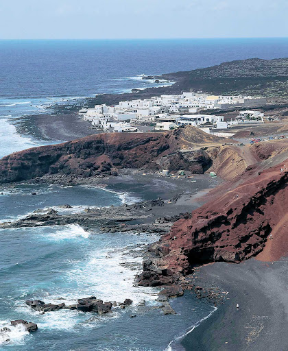 The coastline of the Canary Islands shows its wild side.