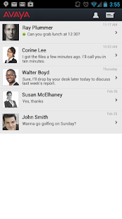 Avaya Messaging Service - screenshot thumbnail