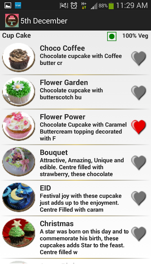 5th December Cakes & Cupcakes- screenshot