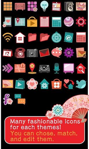 Japanese Theme Hana Temari 1.0.1 Windows u7528 4