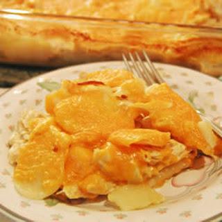 Cheesy Chicken and Potato Casserole.