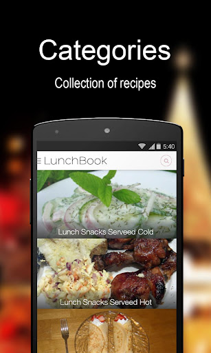 Lunch Recipe Book - FREE