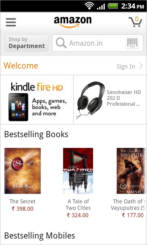 Amazon - screenshot