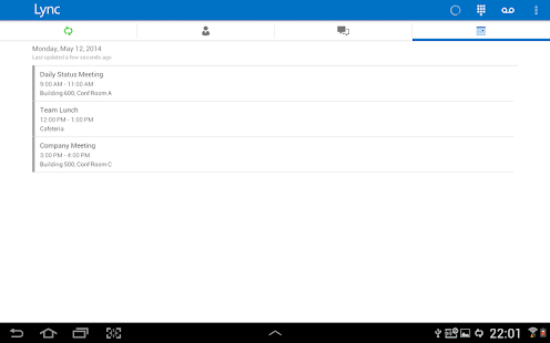 Skype for Business for Android Screenshot 17