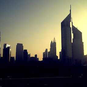 the Emirates by Antone Faustmann Rugay - City,  Street & Park  Skylines