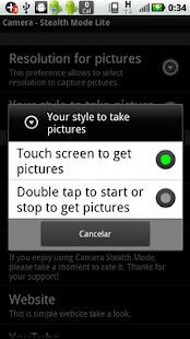 Camera Stealth Mode Lite - screenshot thumbnail