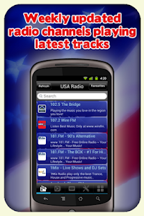 USA Radio - With Recording - screenshot thumbnail
