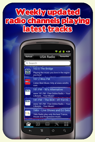 USA Radio - With Recording - screenshot
