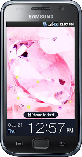 Diamonds Blazing HD LWP