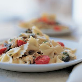 Farfalle with Roasted Garlic and Eggplant Recipe