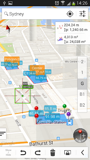 Measure Map Lite 4.0.0 screenshots 2