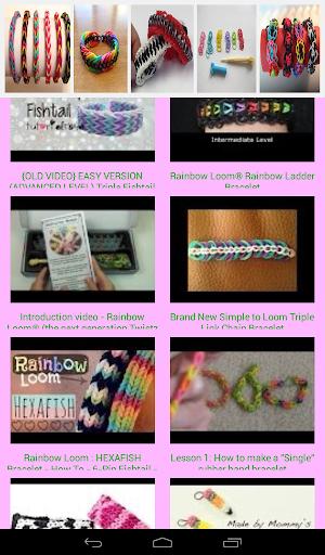 【免費媒體與影片App】Rainbow Loom Bracelet Design-APP點子