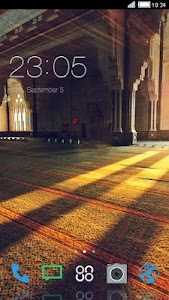 INSIDE MOSQUE THEME screenshot 0