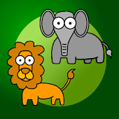 Jungle animals for babies