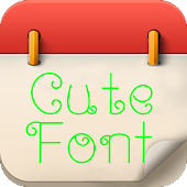 Cute Font for Galaxy Note