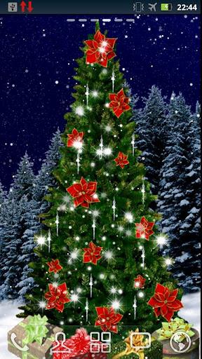 Christmas Tree Live Wallpaper screenshot 2