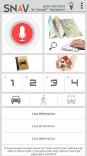 SNAV navigator free - screenshot thumbnail