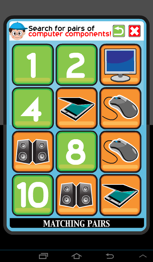 Memobile Game - Learn & Play: screenshot
