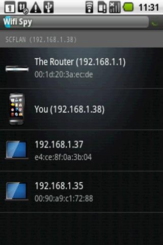 Wifi Spy- screenshot
